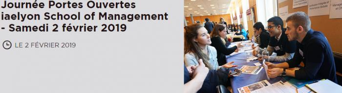 Journée Portes Ouvertes - iaelyon School of Management