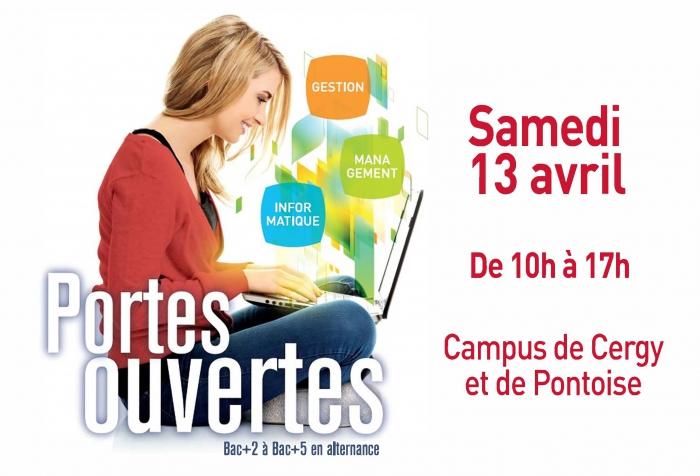 Portes ouvertes ITESCIA Gestion-Management Campus Pontoise