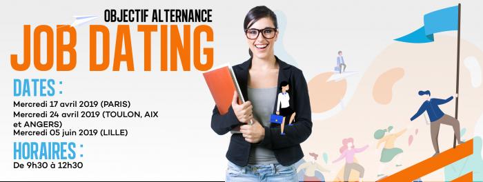 JobDating 2019 à Paris : Objectif Alternance