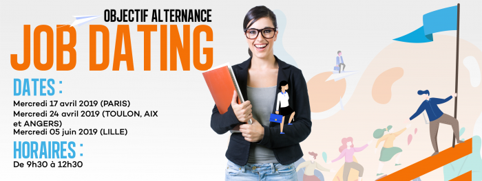 JobDating 2019 à Lille : Objectif Alternance