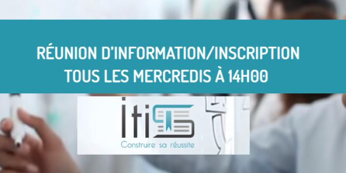 Réunion d'information - ITIS Formation