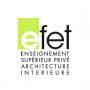 logo EFET Paris - Ecole d'Architecture Intérieure