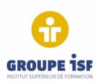 Logo école GROUPE ISF- Institut Supérieur de Formation-Ets du Mans