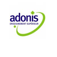Logo Ecole Adonis - IESCA - Rose Carmin